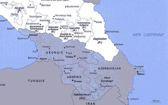 transc1pays de la Transcaucasie