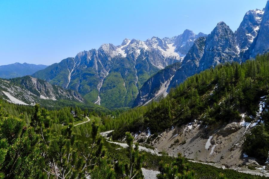 Vue-du-col-de-Vrsic-Slovenie
