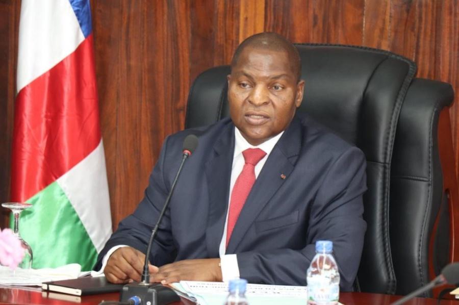afrique centafrique Faustin-Archange Touadéra, Président de la Centrafrique;ob_43781c_fat-1