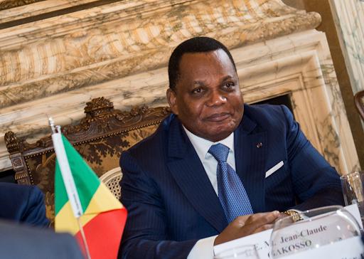 afrique congo Jean-Claude Gakosso, Ministre congolais des Affaires étrangères unnamed