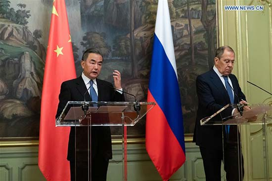 CHINE RUSSIE 14.09.2020 LAVROV WANG YI FOREIGN202009140830000237982101284