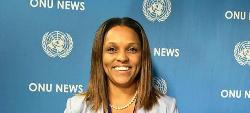 GUINEE BISSAU GOUVERNEMENT 2020 Suzi Carla Barbosa, ministre des Affaires étrangères, de la Coopération internationale et des Communautés unnamed