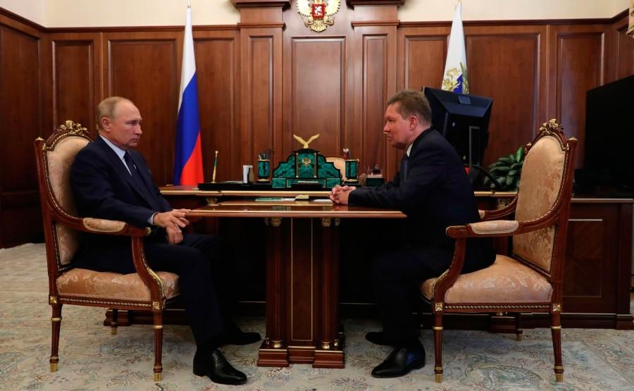 KREMLIN 1 X 4 DU 16.09.2020. Rencontre avec Alexei Miller, PDG de Gazprom .TSmqV0EtKdOZEfN6ymrAyv8vL2AIA6cO