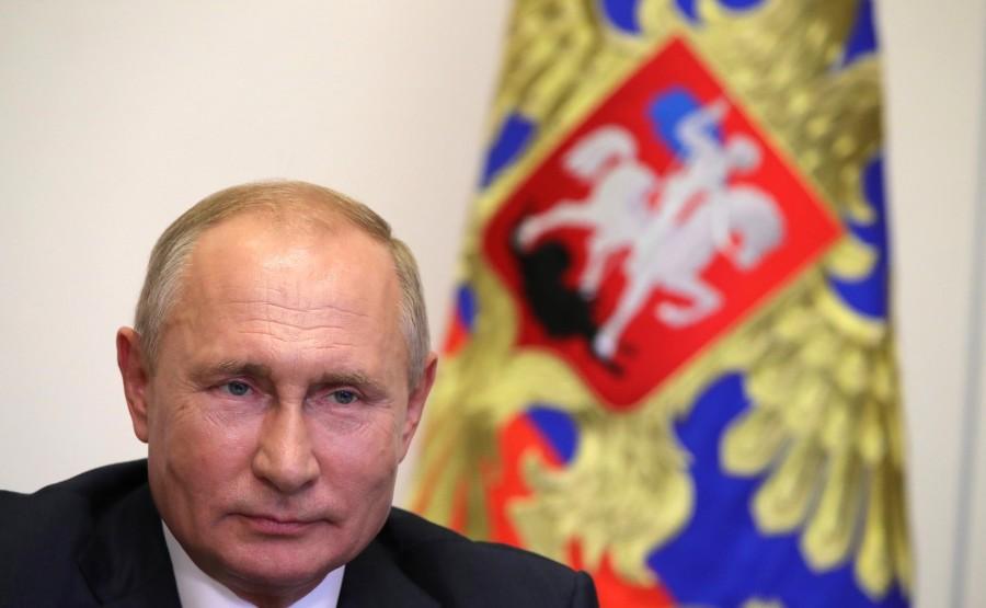 KREMLIN 1 X 5 DU 04.09.2020. Lors d'une réunion avec le maire de Moscou, Sergueï Sobianine (par vidéoconférence). P0dJ7LbWBFhnHHMruRyfY8kABqr9NpkM