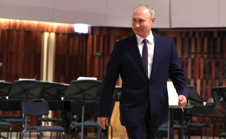 KREMLIN 1 X 9 DU 04.09.2020 Lors de la célébration du 873e anniversaire de Moscou qui s'est tenue à la salle de concert Zaryadye. G8gJAyl5jDlF9EL6MirxzMpCByuz8PoX