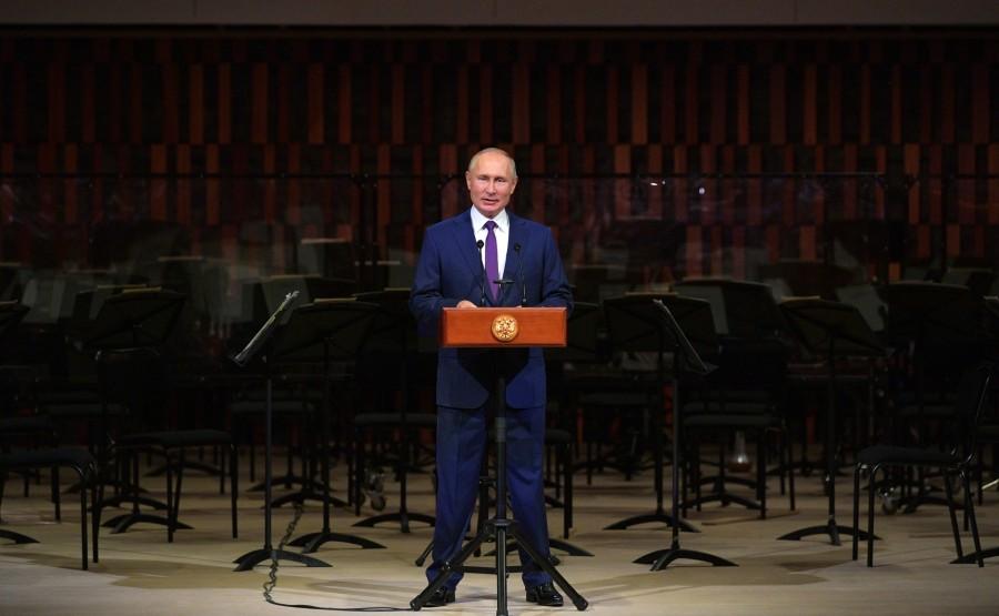 KREMLIN 6 X 9 DU 04.09.2020 Lors de la célébration du 873e anniversaire de Moscou qui s'est tenue à la salle de concert Zaryadye. yJHWVdOO6M1rjrdq9aIWZYde5TW3YKYG