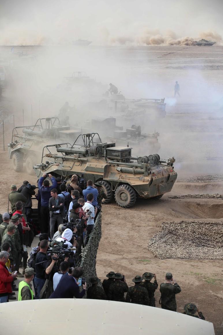 KREMLIN CAUCASE PH 17 X 17 La principale étape de l'exercice de siège stratégique Caucase-2020