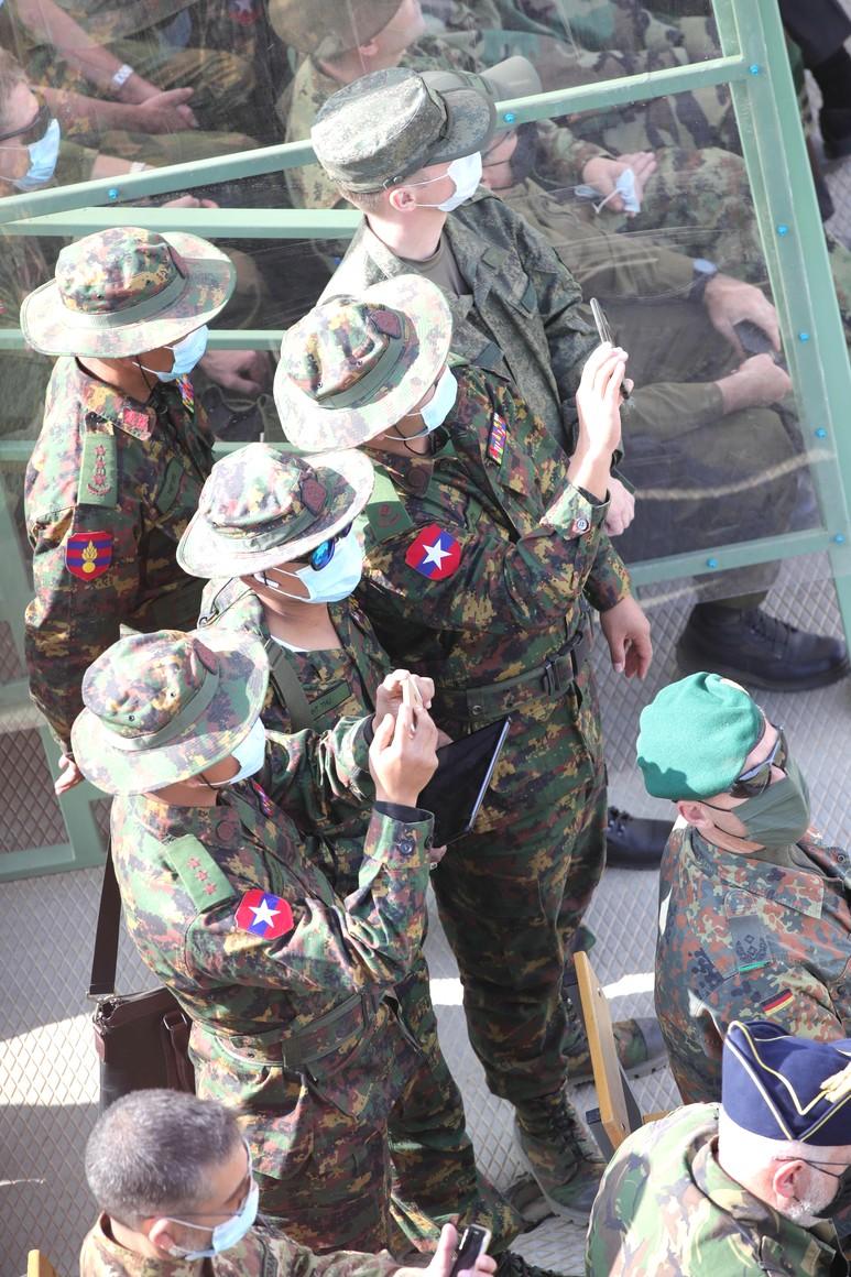 KREMLIN CAUCASE PH 4 X 17 Au centre de formation de Kapustin Yar pendant la phase principale de l'exercice du quartier général stratégique Caucase-2020.