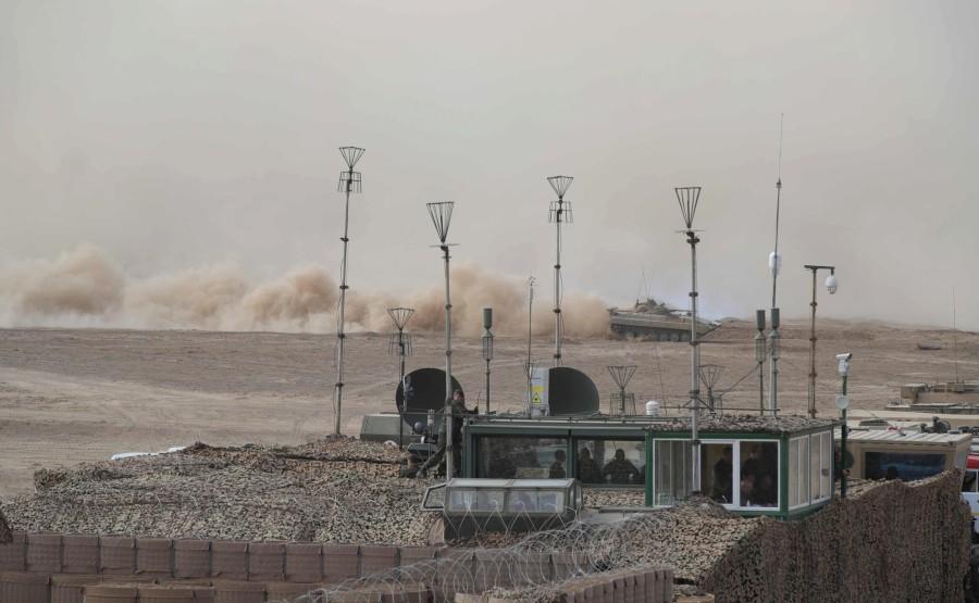 KREMLIN CAUCASE PH 6 X 17 La scène principale de l'exercice de siège stratégique Caucase-2020.