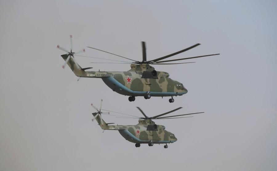 KREMLIN CAUCASE PH 8 X 17 La scène principale de l'exercice de siège stratégique Caucase-2020.