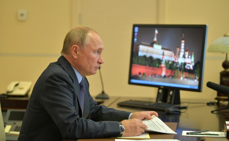 kremlin PH 3 X 6 GOUVERNEMENT 20.09.2020 Rencontre avec les membres du gouvernement (par vidéoconférence). VefqJtT83wfwLo2OHedxPjvPfA3booIF