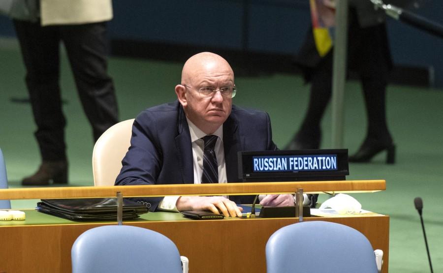 KREMLIN PH 5 X 6 DU 22.09.2020 Vladimir Poutine a prononcé un discours vidéo préenregistré à la session du 75e anniversaire de l'Assemblée générale des Nations Unies. vSM95lNb58dAMtwuNxh69oFFDCSo7ksz