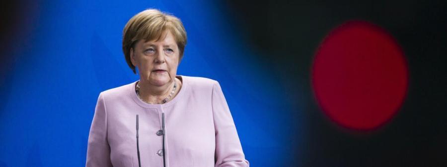 la Chancelière allemande Angela Merkel 19534935