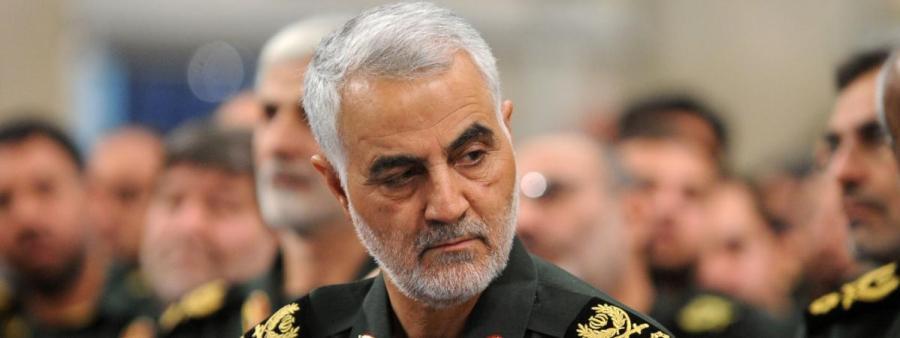 le général iranien Qassem Soleimani 20704583