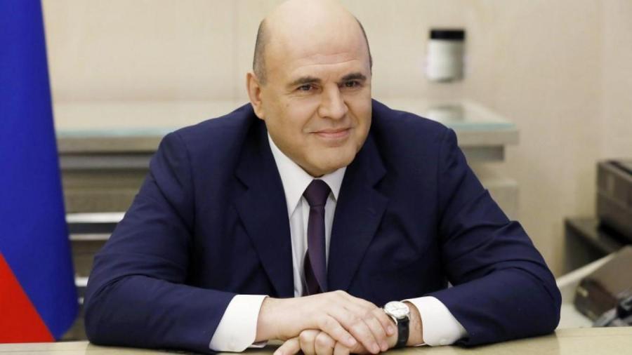 le Premier ministre russe Mikhaïl Michoustine B9723505123Z.1_20200519162203_000+GS8G1LCK8.1-0