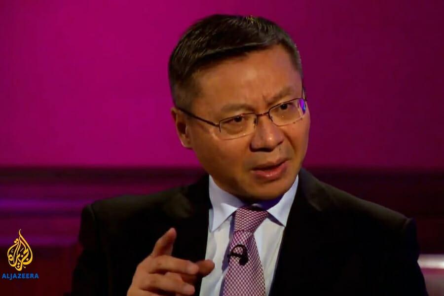 le théoricien politique chinois Zhang Weiwei 1548439948999