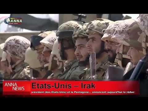 réduction du contingent américain en Irak