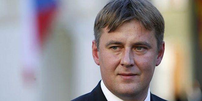 REPUBLIQUE TCHEQUE tchèque Tomas Petricek, Ministre des Affaires étrangères de la République tchèque