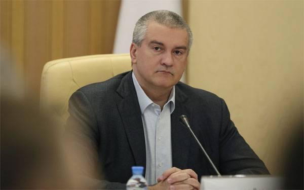 RUSSIE CRIMEE Le chef de la république de crimée Sergei aksenov 5991609cb29358885fdda18560f1eb3e