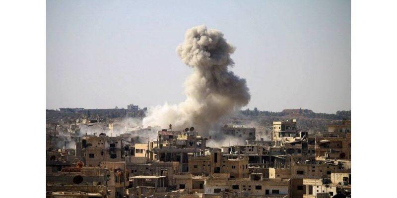 title-1493635364_864398 Les frappes aériennes de la coalition font parfois des victimes parmi les civils irakiens ou syriens. Photo AFP