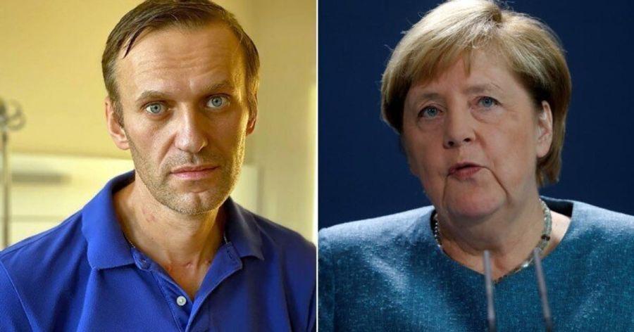 5f71f353220000440182b9ddAngela Merkel rencontre Alexeï Navalny