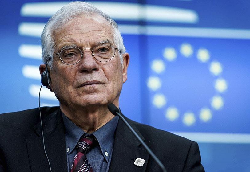 Atalayar_Borrell Haut représentant de l'Union européenne pour les affaires étrangères et la politique de sécurité Josep Borrell.