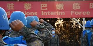 Casques bleus chinois ont accompli la mission à Beyrouth
