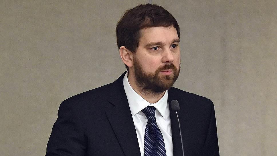 Chef de l'Agence fédérale pour les affaires ethniques Igor Barinov éé