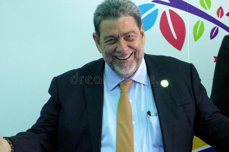 du Premier ministre Ralph Gonsalves