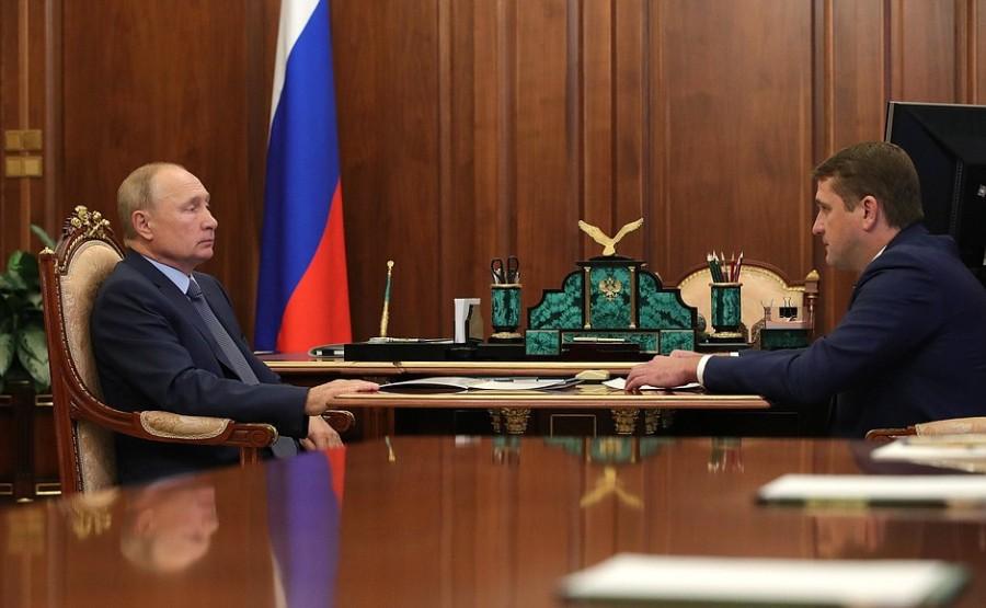 KREMLIN 19.10.2020 PH 2 X 4 Rencontre avec le chef de l'Agence fédérale des pêches Ilya Chestakov - 19 octobre 2020 XHebweAoFQj4Cv4KWvVdWeTkPKFXyZjp
