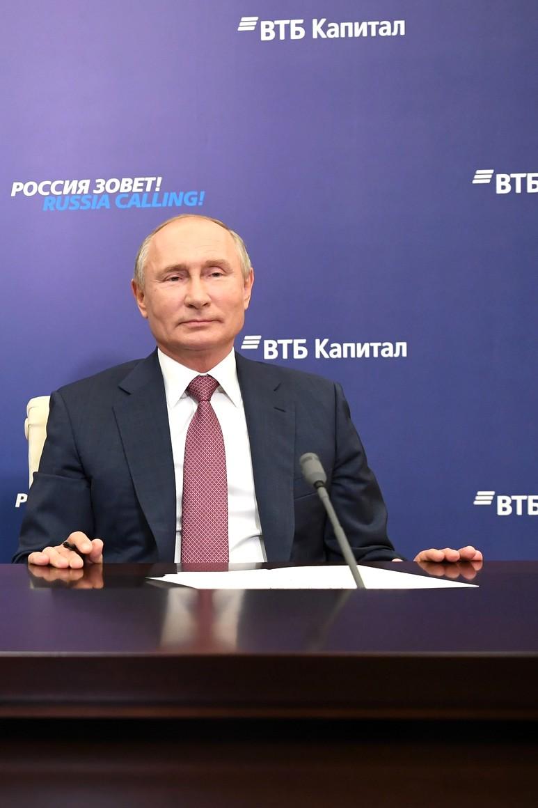 KREMLIN INVESTISSEMENTS PH 6 XX 6 La Russie appelle! Forum d'investissement - 29 octobre 2020