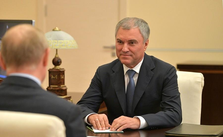 KREMLIN PH 2 SUR 2 Rencontre avec le président de la Douma d'État Vyacheslav Volodine - 26 octobre 2020