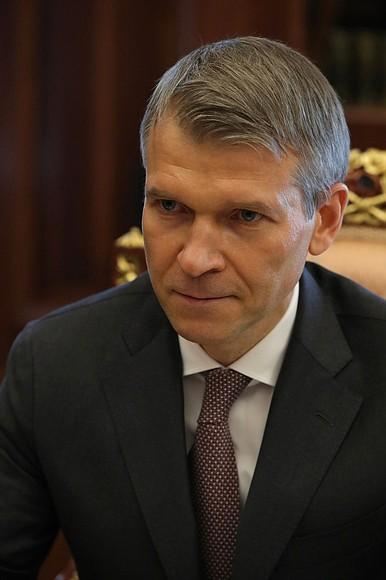 KREMLIN PH 2 X 4 DU 20.10.2020 Rencontre avec le président du conseil d'administration de la Rosselkhozbank (Banque agricole russe), Boris Listov - 20 octobre 2020