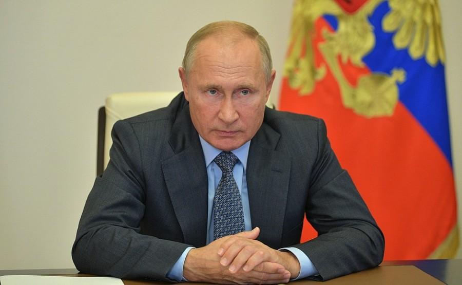 KREMLIN PH 3 X 3 DU 08.10.2020 Vladimir Poutine a tenu une réunion sur des questions concernant le ministère des Urgences (par vidéoconférence). mxX1JVlTia15cyA1vRSxg3DfAJEzf392