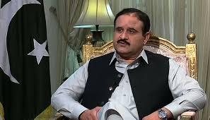 le Ministre en chef du Punjab Sardar Usman Buzdar