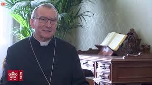 le Secrétaire d'État du Saint-Siège Pietro Parolin
