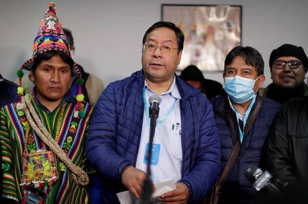 Luis Arce et au peuple bolivien reuters