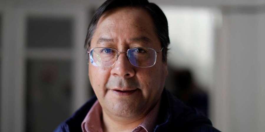 M. Luis Arce pour sa victoire aux élections présidentielles.