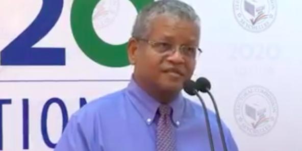M. Wavel Ramkalawan pour son élection au poste de Président des Seychelles