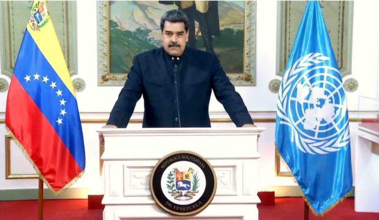 Maduro-768x447 Intervention de Son Excellence Monsieur Nicolás Maduro Moros, Président de la République bolivarienne du Venezuela septembre 2020