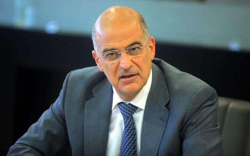 Nikos Dendias, Ministre des Affaires étrangères de la Grèce