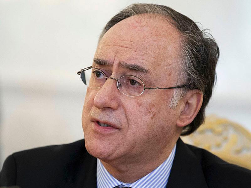 OIAC Le directeur général de l'OIAC, Fernando Arias,