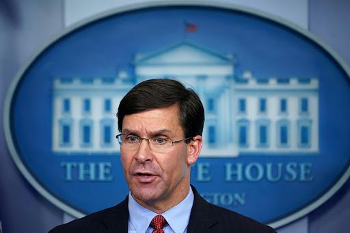 OTAN USA Le Secrétaire à la Défense des États-Unis Mark Esper