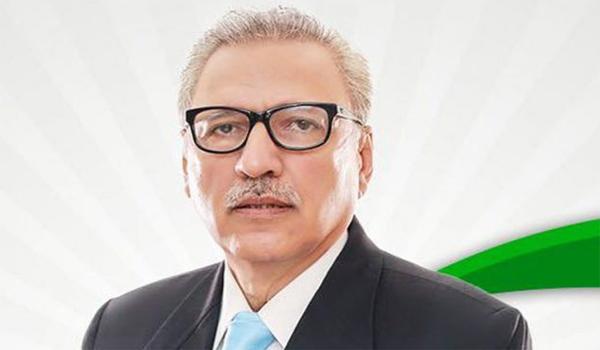 PAKISTAN Le Président du Pakistan Arif Alvi