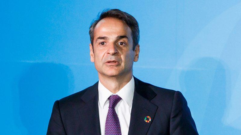 Premier ministre Kyriakos Mitsotakis,