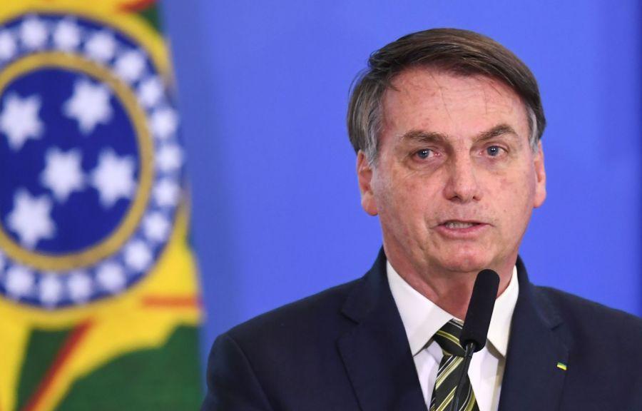 Président du Brésil Jair Bolsonaro