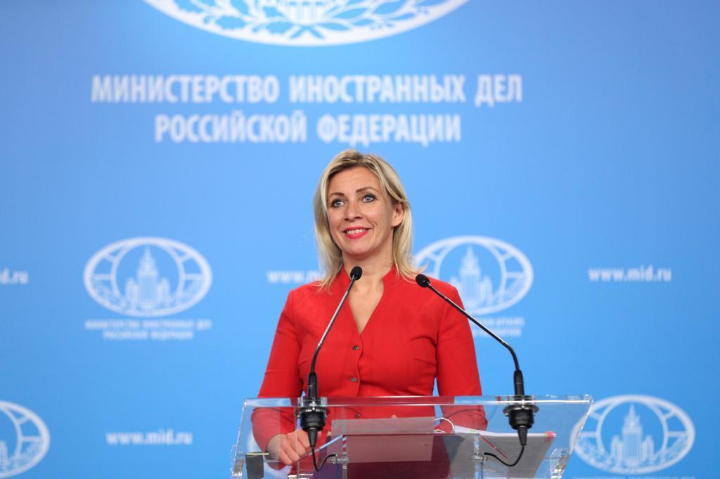 RUSSIE ZAKHAROVA MARIA Брифинг_08102020