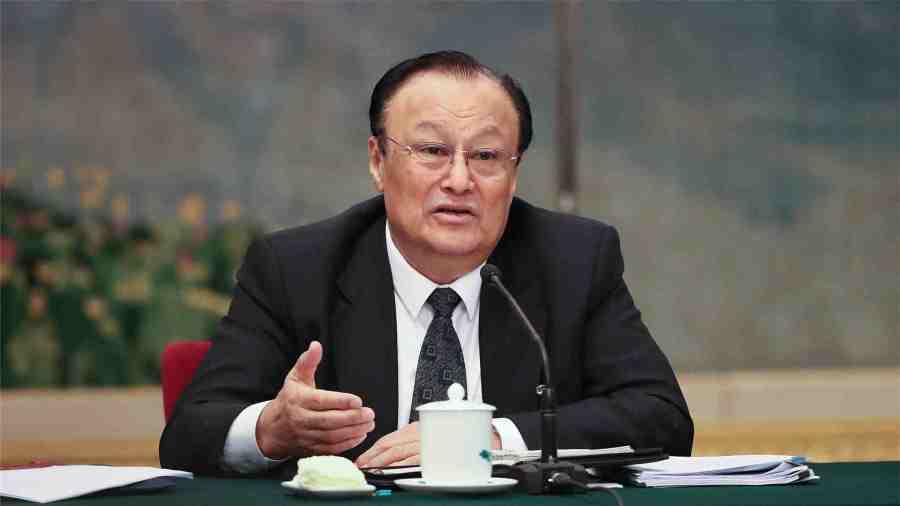 Shohrat Zakir, président de la région autonome ouïgoure du Xinjiang. VCG photo