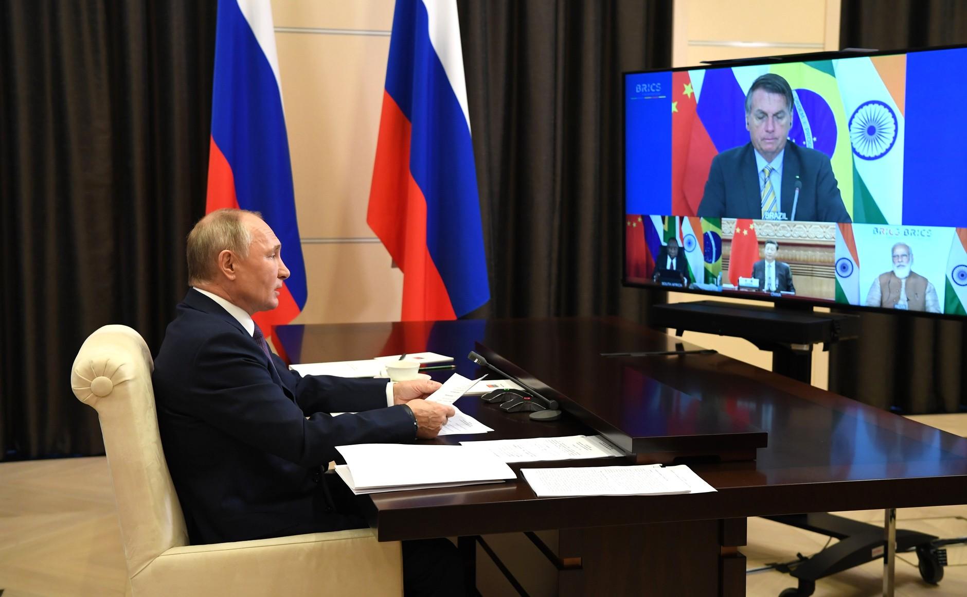 BRICS KREMLIN PH 2 XX 4 BRICS 17.11.2020 Sommet BRICS