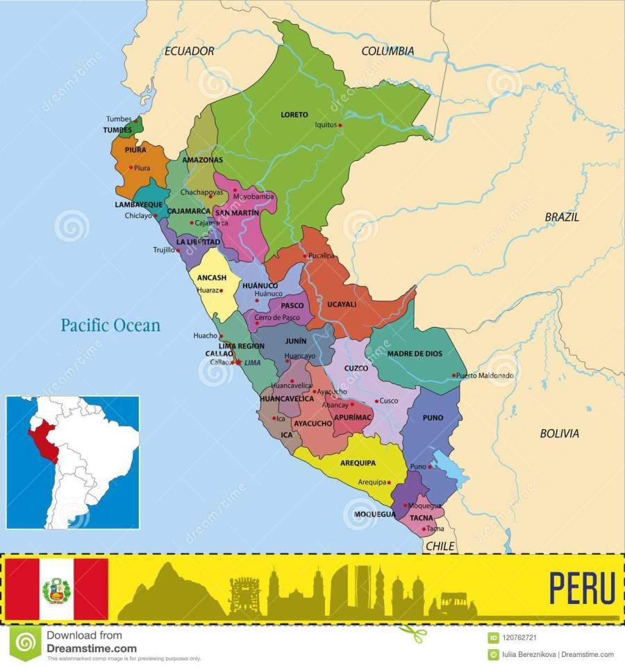 carte-du-pérou-avec-des-régions-et-leurs-capitaux-120762721